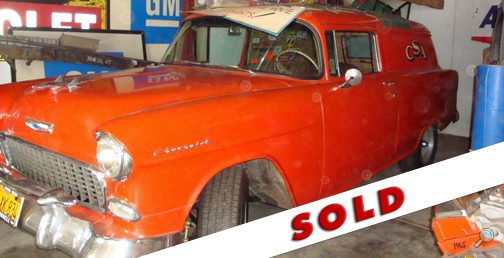 1955 Chevrolet Sedan Delivery, restored Chevy classic show cars