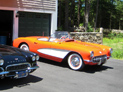1957 Chevrolet Corvette 283, restored vintage Chevy show car