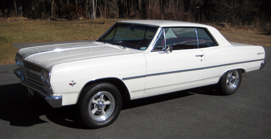 1965 Chevelle Malibu, restored vintage Chevy show car