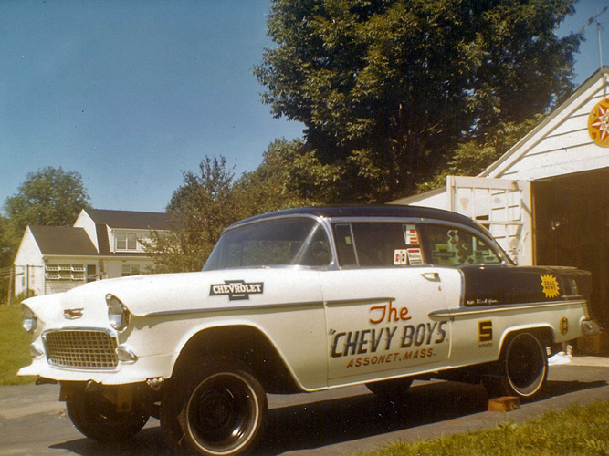 Vintage Chevy car parts yard, classic Chevy auto parts warehouse ...