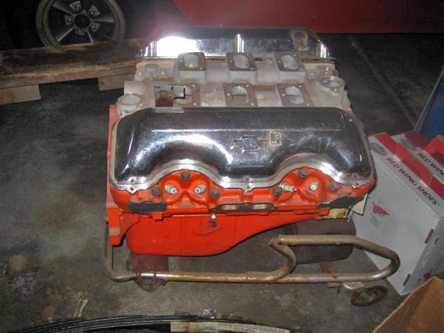 Vintage Chevy car engines, original Chevy 6-cylinder & V-8 auto