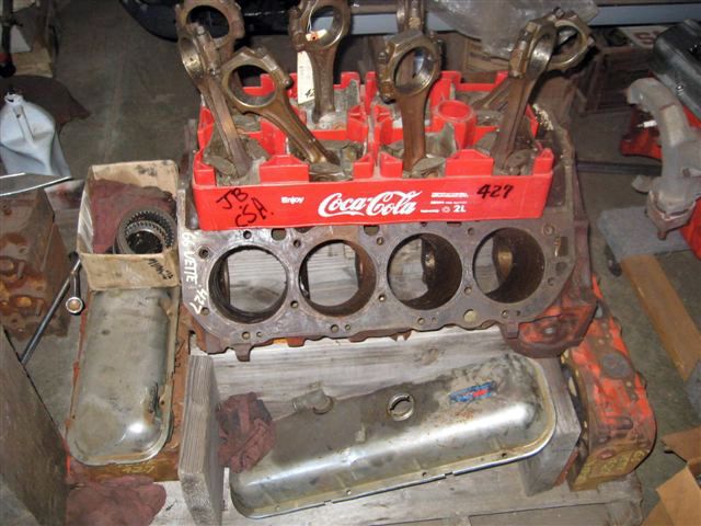 Vintage Chevy car engines, original Chevy 6-cylinder & V-8