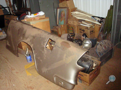 Vintage Chevy car fenders, original classic Chevy replacement fenders, vintage Chevy front & rear car fenders, classic Chevy car body panels & fender parts
