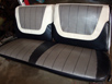 Vintage Chevy car seats, 1937-1972 Chevy car replacement seats, vintage Chevy interior auto upholstery, classic Chevy auto front seats & rear seats