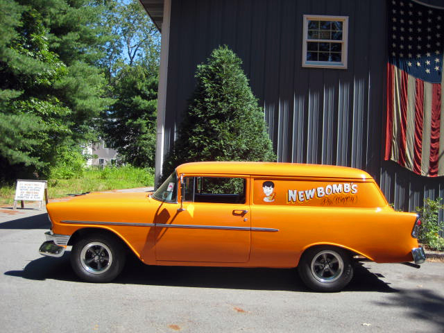 Vintage Chevy show cars, antique Chevrolet show cars