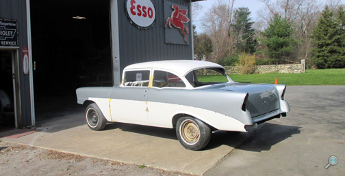 1956 Chevy Del Ray, Vintage Chevrolet project cars, classic Chevy project cars, vintage Chevy car restoration projects, CSA Freetown MA USA, vintage Chevy auto projects