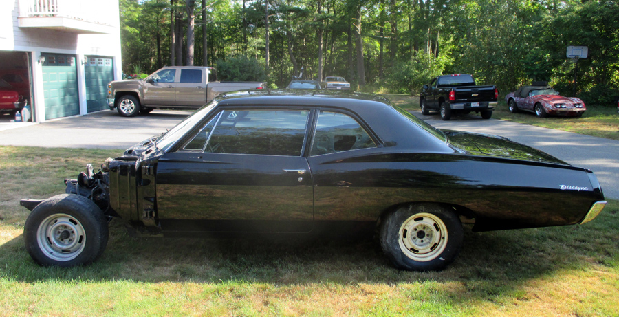 1967 Chevy Biscayne Vintage Chevrolet Project Cars Classic
