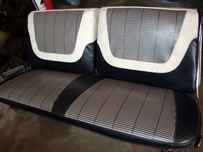 Vintage Chevy Car Seats, Classic Chevrolet Auto Seats, Vintage Chevy Interior  Upholstery, Antique