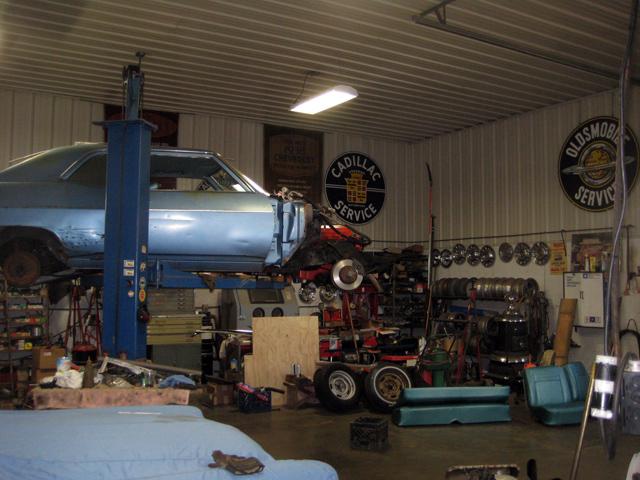 Vintage Chevy Auto Parts Warehouse Classic Chevrolet Car