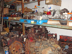 Authentic Chevy vintage auto parts warehouse, used original Chevy car parts & accessories, NOS classic Chevy auto replacement parts, CSA Freetown MA USA